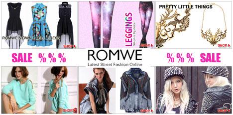 Купоны ROMWE.com!